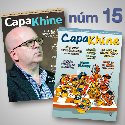 Revista de ajedrez Capakhine número 15, dirigida a los niños y sus padres